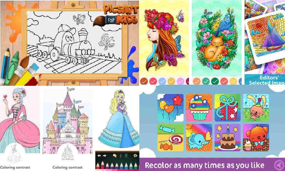 Game Mewarnai Gambar Untuk Anak Kecil