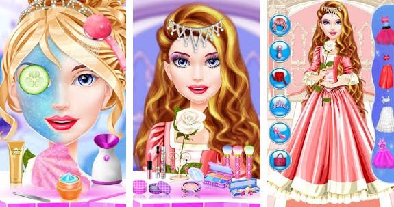 Game Barbie Berdandan