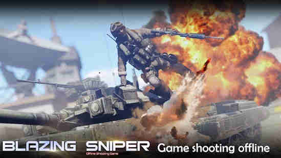 Blazing Sniper – Offline Shooting Game