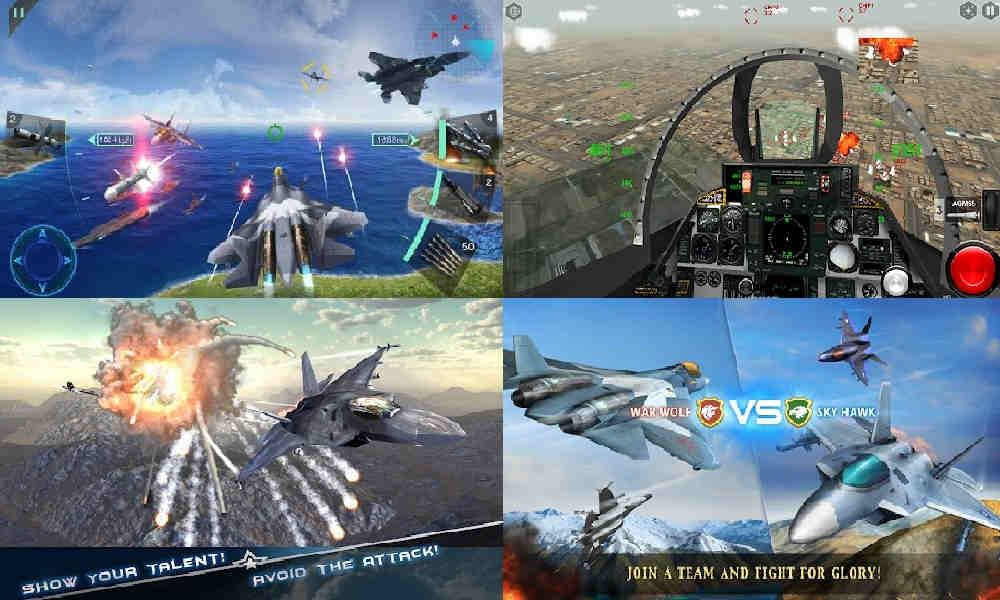 11 Game Pesawat Tempur Gratis Offline 3D Terbaik di Android