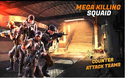 Mega Killing Squad Offline Shooting Game