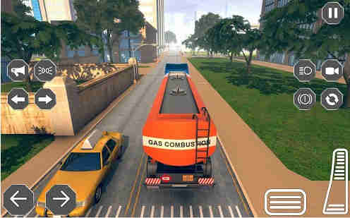 Oil Tanker Truck Driver 3D