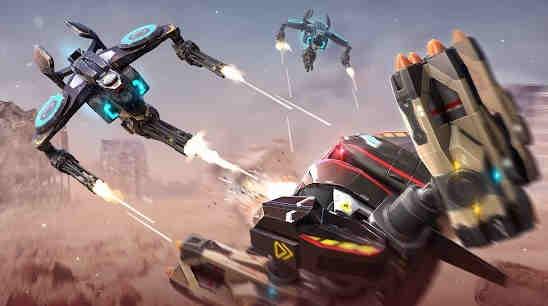 Game Robot Perang Android 2