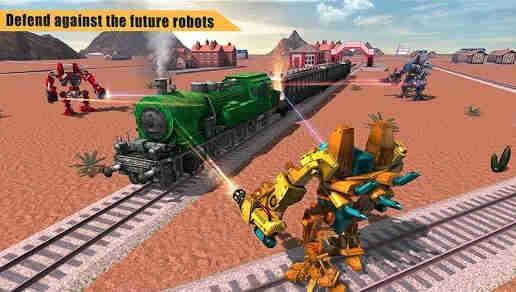 Game Robot Perang Android 1