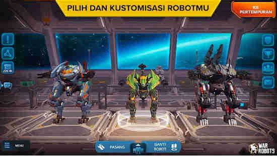 Game Robot Perang Android 3