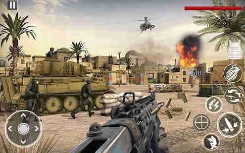 World War in Pacific FPS Shooting Game Survival