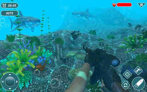 Angry Shark Sniper 3D