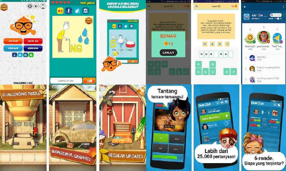 12 Game Asah Otak Terpopuler di Android yang Bikin Pintar