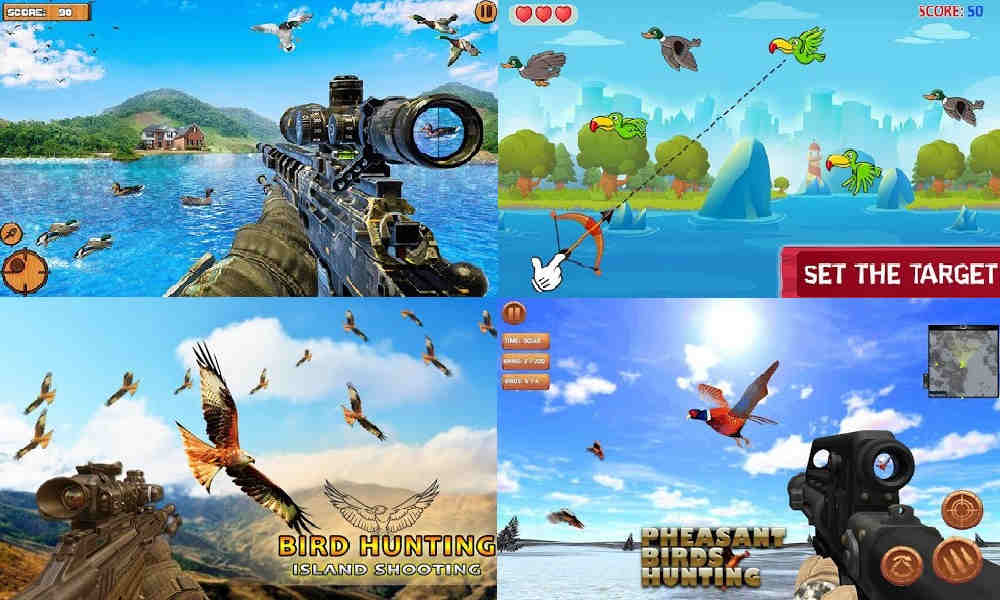 Game Berburu Burung di Android
