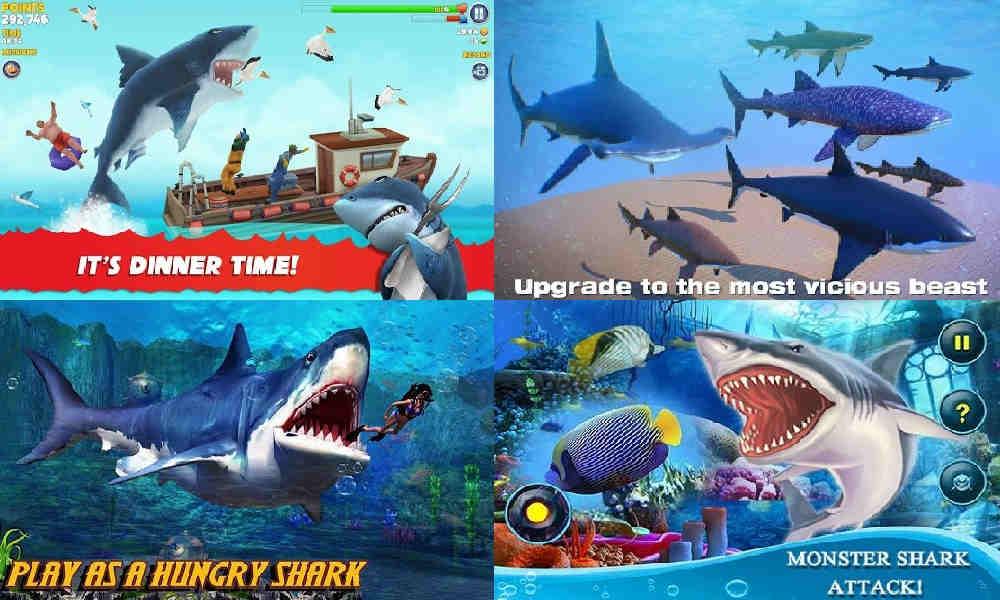 Game Ikan Hiu Offline di Android