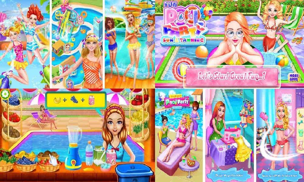 Game Kolam Renang Barbie