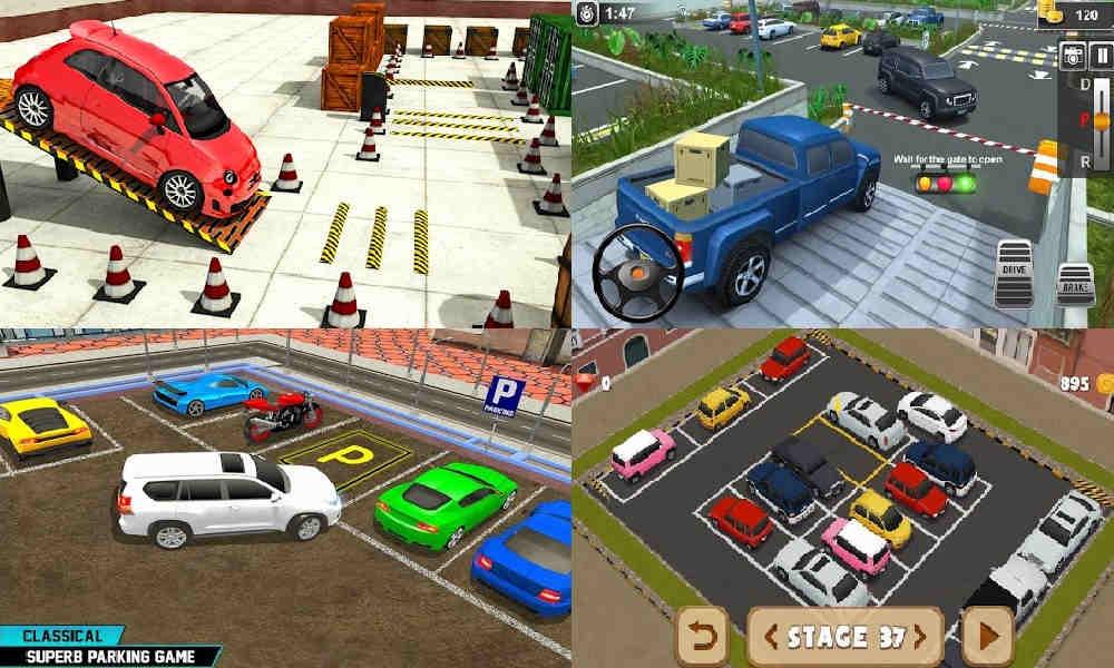 Game Parkir Mobil Manual