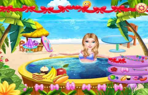 Princess Swimming Pool Fun