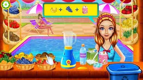 Game Kolam Renang Barbie 3