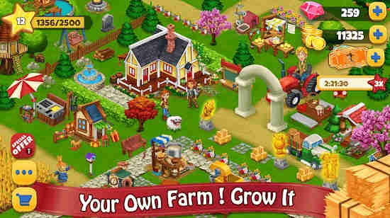 Farm Day Village Farming