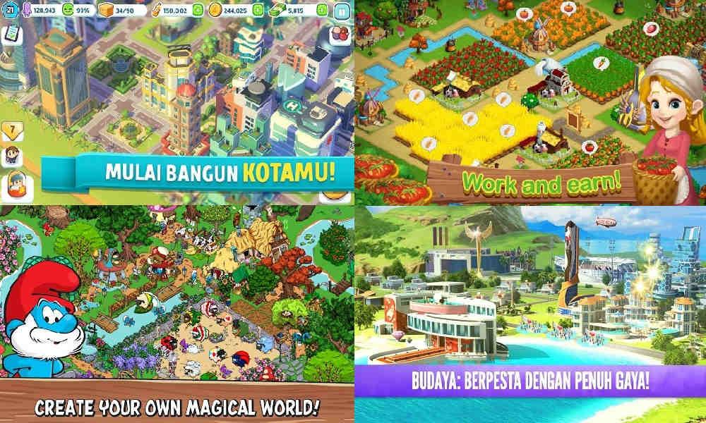 10 Game Membangun Kota Offline Terbaik untuk Android