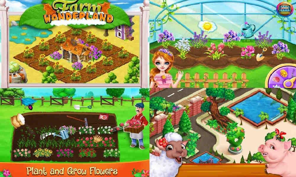 Game Menanam Bunga di Kebun