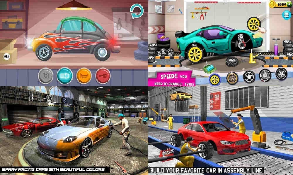 Game Merakit Mobil