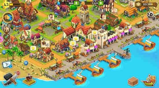 Village Town Builder