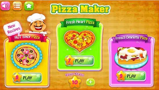 Baking Pizza - Game Memasak