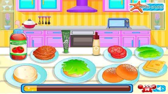 Burger Mini - Permainan Memasak