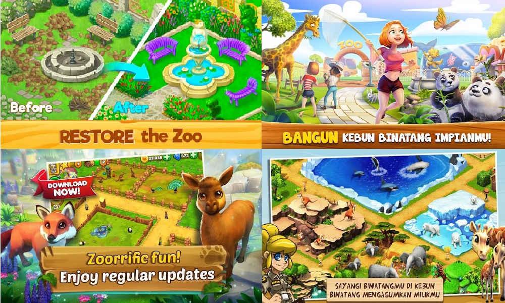 Game Membuat Kebun Binatang
