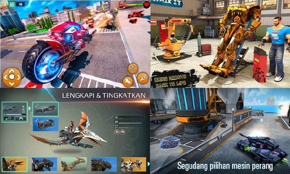 Game Membuat Robot Tempur Offline Terbaik