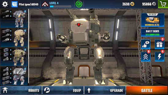 Mech Wars Multiplayer Robots Battle