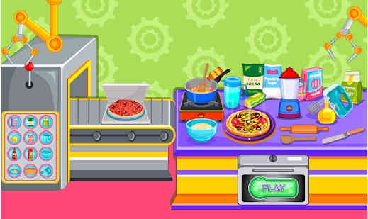 Piza Lezat - Permainan Memasak