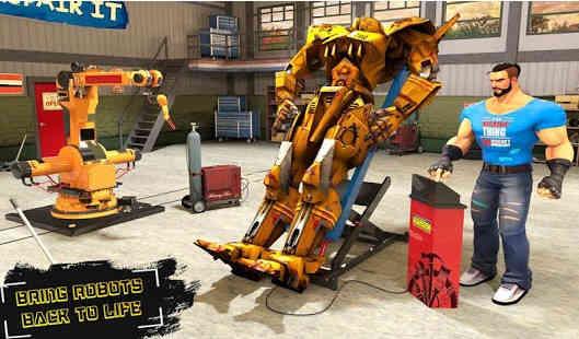 Game Membuat Robot Tempur