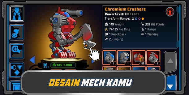 Game Membuat Robot Tempur Offline