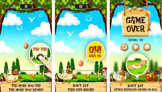 Egg Catching Game - Catch Eggs Chicken Games