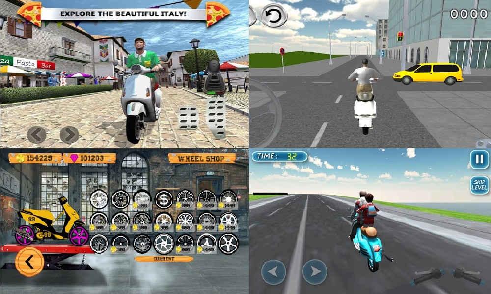 10 Game Motor Vespa Offline Terbaik dan Terseru di Android