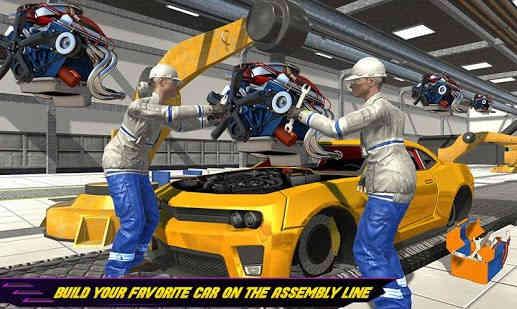 Pembuat Mobil Auto Mechanic Car Builder Games a