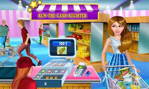 Permainan Super Market Tunai