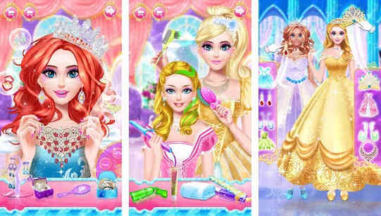 Princess Dress Up and Makeup Game