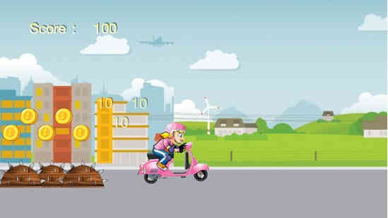 Princess Ride Motorcycle