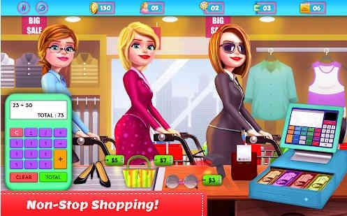 Game Menjadi Kasir Supermarket