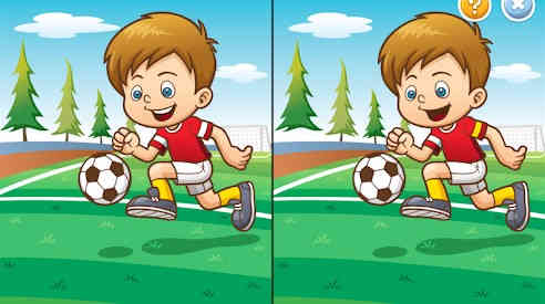 Spot it 2 Find the Difference for Toddlers & Kids