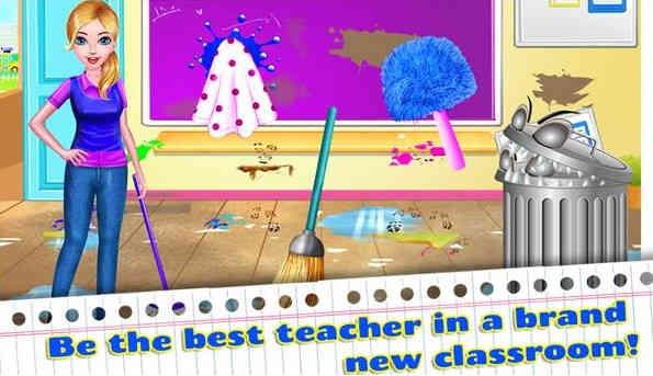 Teacher Madness - Classroom Fun Games for Girls